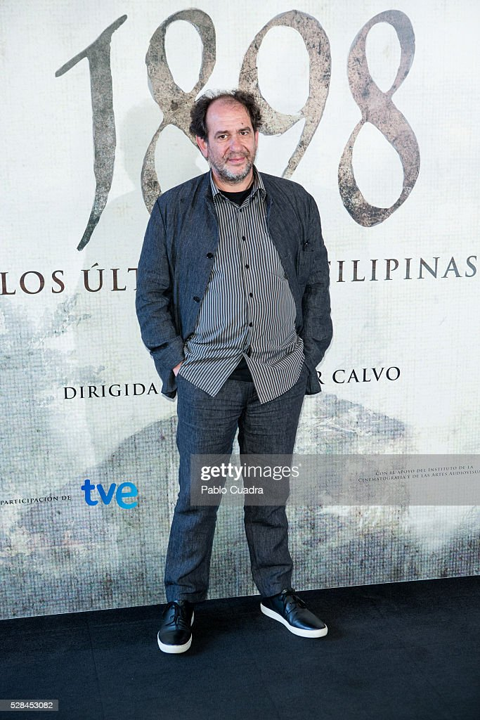 Spanish actor Karra Elejalde attends the '1898 Los Ultimos De Filipinas' photocall at the Room Mate Hotel on May 05, 2016 in Madrid, Spain.