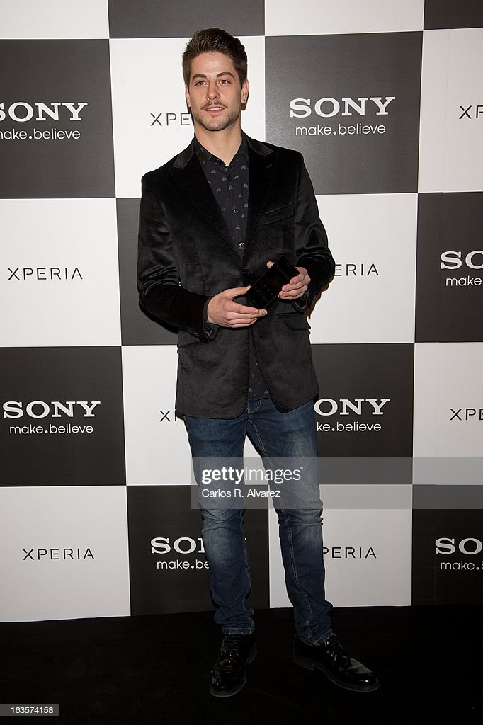 Spanish actor Luis Fernandez attends the Sony Mobile Gala premiere at the Callao cinema on March 12, 2013 in Madrid, Spain.