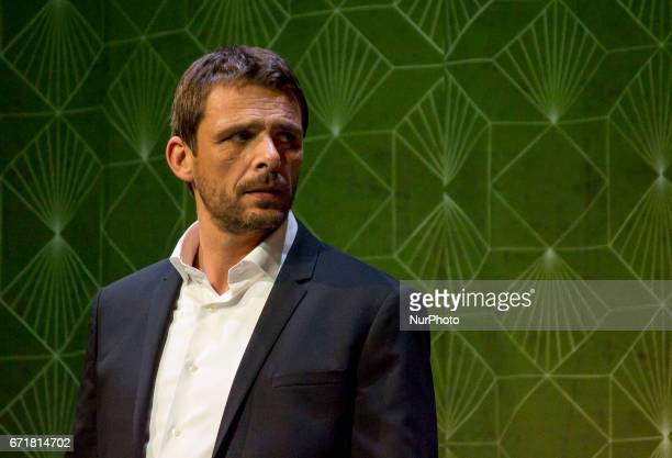 Spanish actor Luis Mottola attends to Graphic Pass of Prefiero que seamos amigos in Madrid on April 18 2017