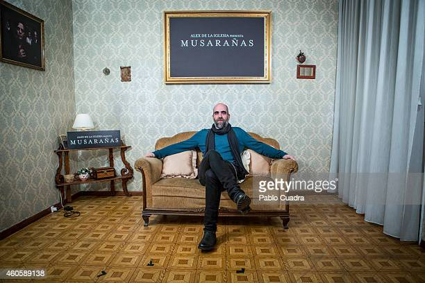 Spanish actor Luis Tosar attends the 'Musaranas' photocall on December 17 2014 in Madrid Spain