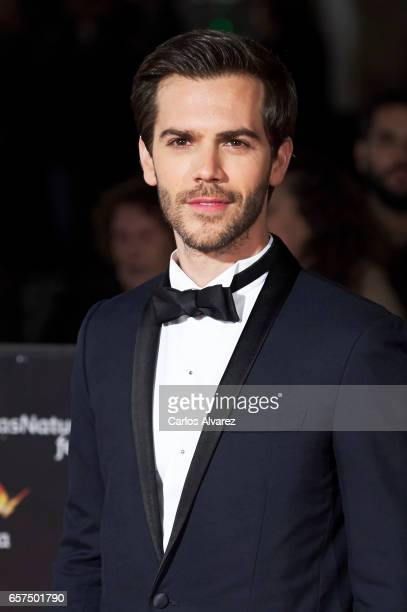Spanish actor Marc Clotet attends the 'Pieles' premiere on day 8 of the 20th Malaga Film Festival at the Cervantes Teather on March 24 2017 in Malaga...
