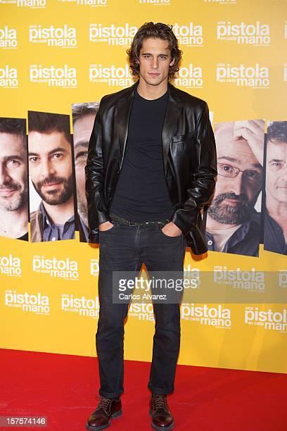 Spanish actor Martin Rivas attends the 'Una Pistola en Cada Mano' premiere at the Palafox cinema on December 4 2012 in Madrid Spain