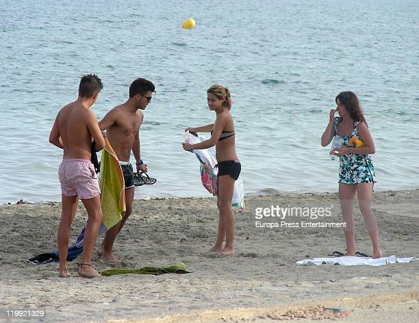 Spanish actor Maxi Iglesias is seen on July 27 2011 in Ibiza Spain