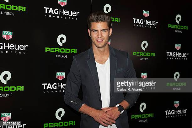 Spanish actor Maxi Iglesias presents 'Tag Heuer Connected' on May 19 2016 in Madrid Spain