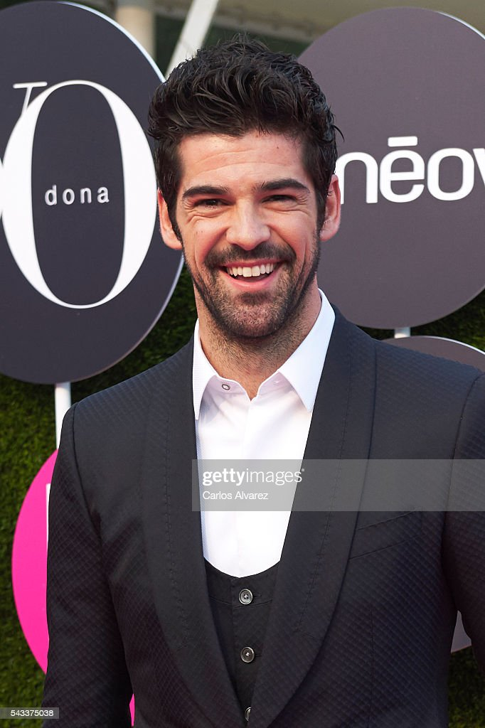 Spanish actor <a gi-track='captionPersonalityLinkClicked' href=/galleries/search?phrase=Miguel+Angel+Munoz&family=editorial&specificpeople=714734 ng-click='$event.stopPropagation()'>Miguel Angel Munoz</a> attends 'Yo Dona' International awards on June 27, 2016 in Madrid, Spain.