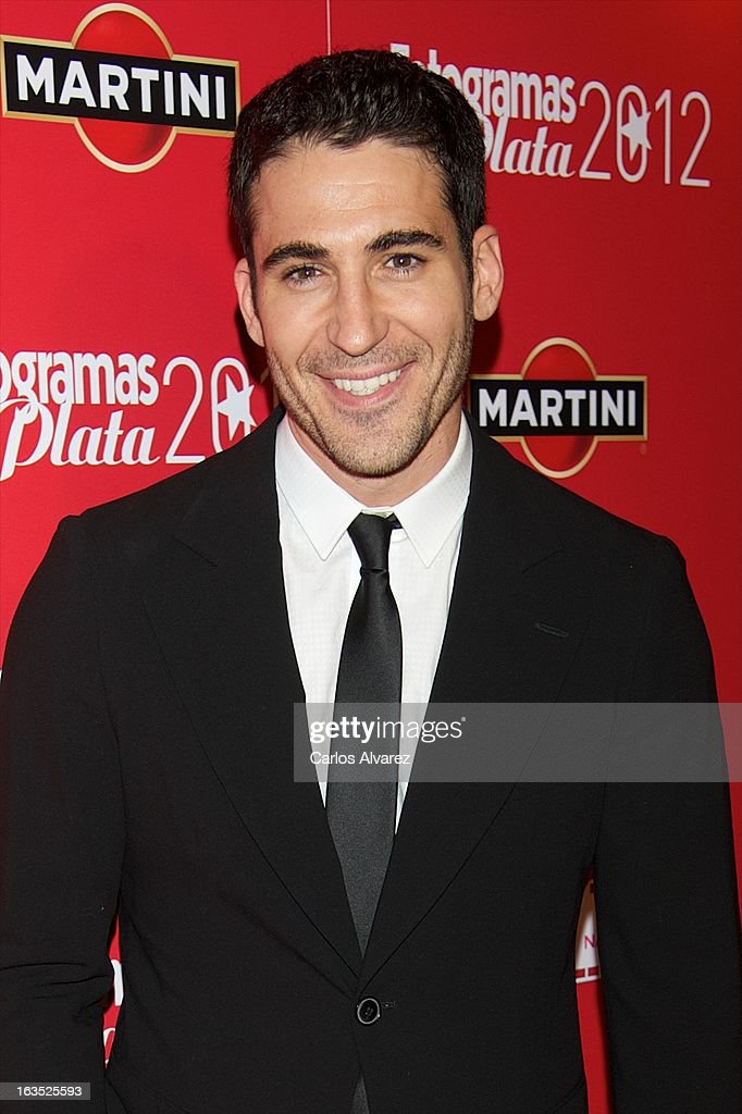 Spanish actor <a gi-track='captionPersonalityLinkClicked' href=/galleries/search?phrase=Miguel+Angel+Silvestre&family=editorial&specificpeople=4001600 ng-click='$event.stopPropagation()'>Miguel Angel Silvestre</a> attends Fotogramas awards 2013 at the Joy Eslava Club on March 11, 2013 in Madrid, Spain.