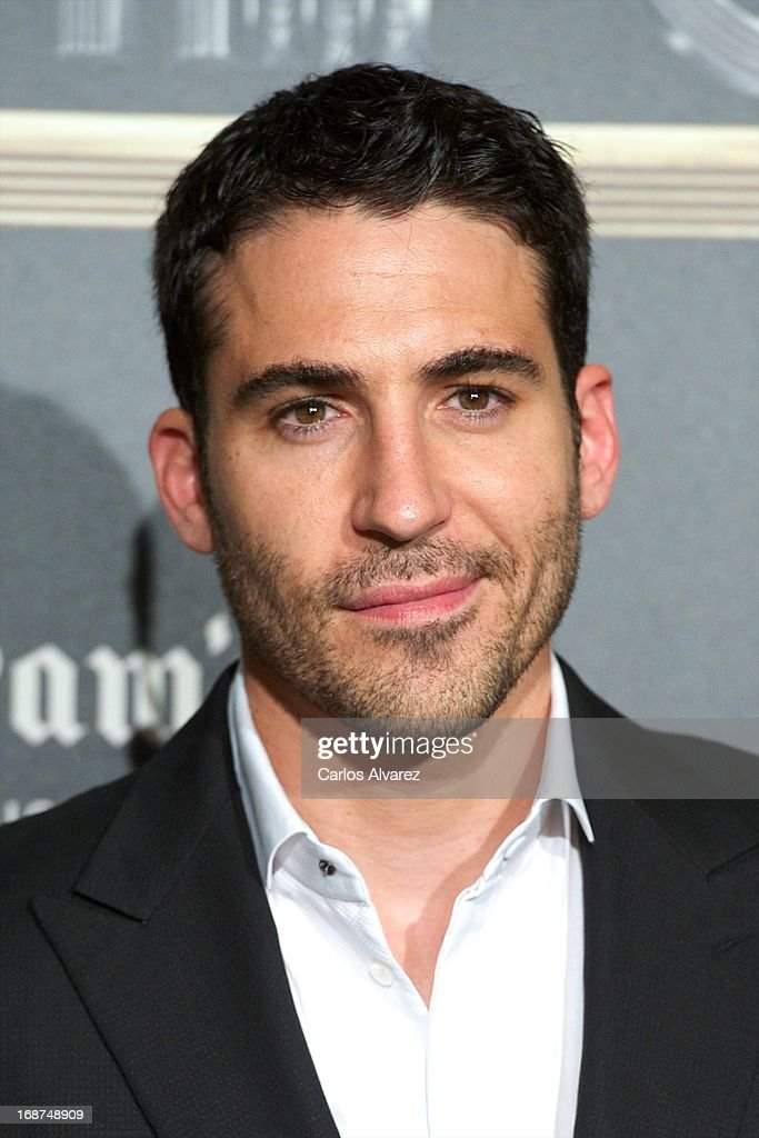 Spanish actor <a gi-track='captionPersonalityLinkClicked' href=/galleries/search?phrase=Miguel+Angel+Silvestre&family=editorial&specificpeople=4001600 ng-click='$event.stopPropagation()'>Miguel Angel Silvestre</a> attends the 'El Gran Gatsby Cafe' inauguration party at the Circulo de Bellas Artes on May 14, 2013 in Madrid, Spain.