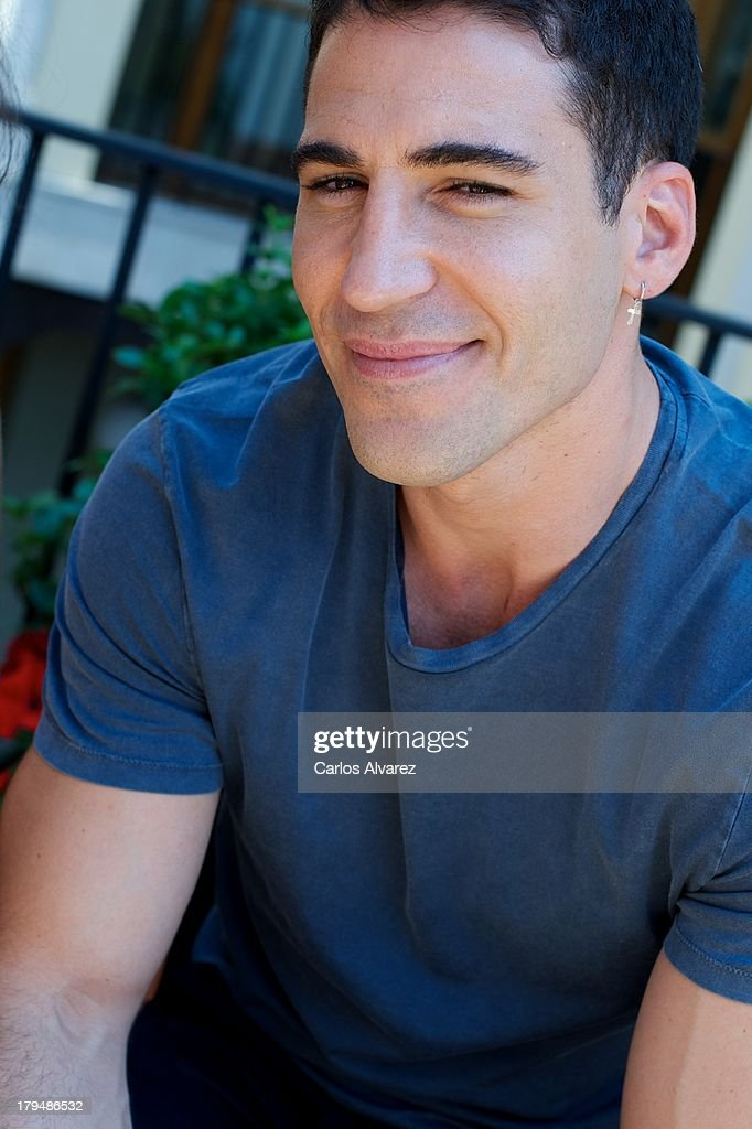 Spanish actor Miguel Angel Silvestre attends the 'Galerias Velvet' new season presentation during the day three of 5th FesTVal Television Festival 2013 at the Villa Suso Palace on September 4, 2013 in Vitoria-Gasteiz, Spain.