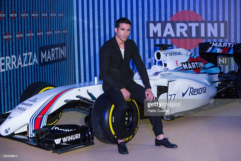 Spanish actor Miguel Angel Silvestre attends the Martini Terraze opening party on May 26, 2016 in Madrid, Spain.