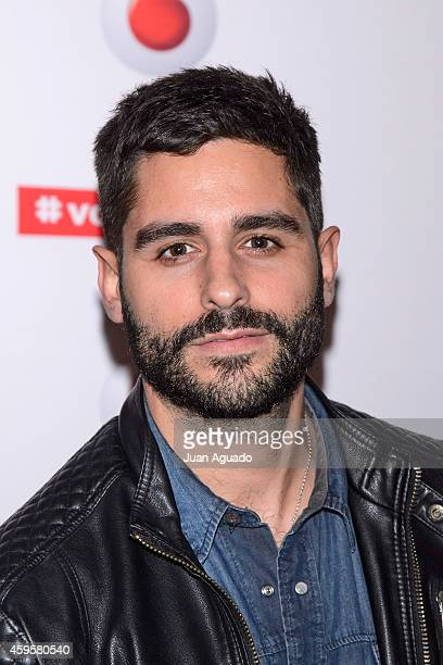 Spanish actor Miguel Diosdado attends the Leiva concert at Joy Eslava Club on November 25 2014 in Madrid Spain