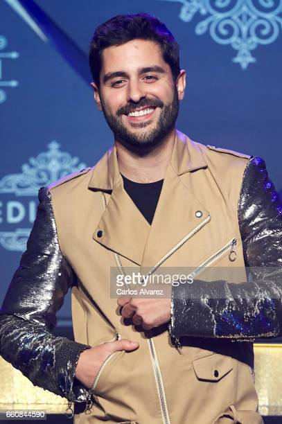 Spanish actor Miguel Diosdado attends the opening of the new Clandestine Show Club 'The Secret' on March 30 2017 in Madrid Spain