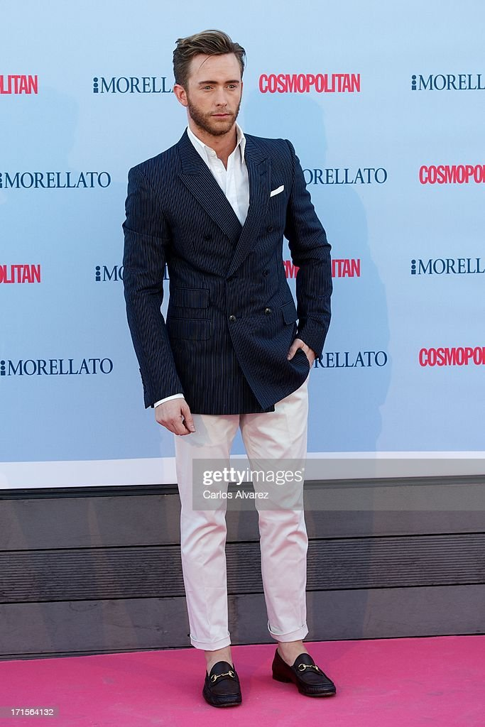 Spanish actor Pablo Rivero attends the 'Cosmopolitan Fragance Awards' 2013 at the Circulo de Bellas Artes on June 26, 2013 in Madrid, Spain.