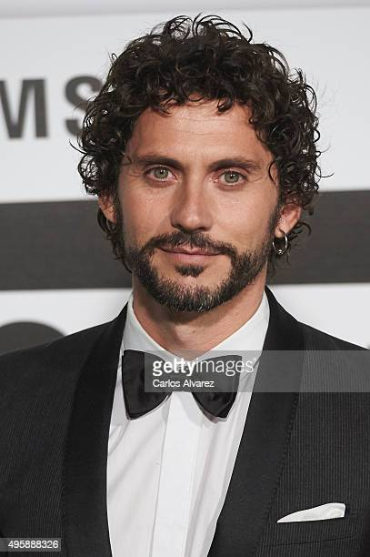 Spanish actor Paco Leon attends the GQ Men of The Year 2015 Awards at the Palace Hotel on November 5 2015 in Madrid Spain