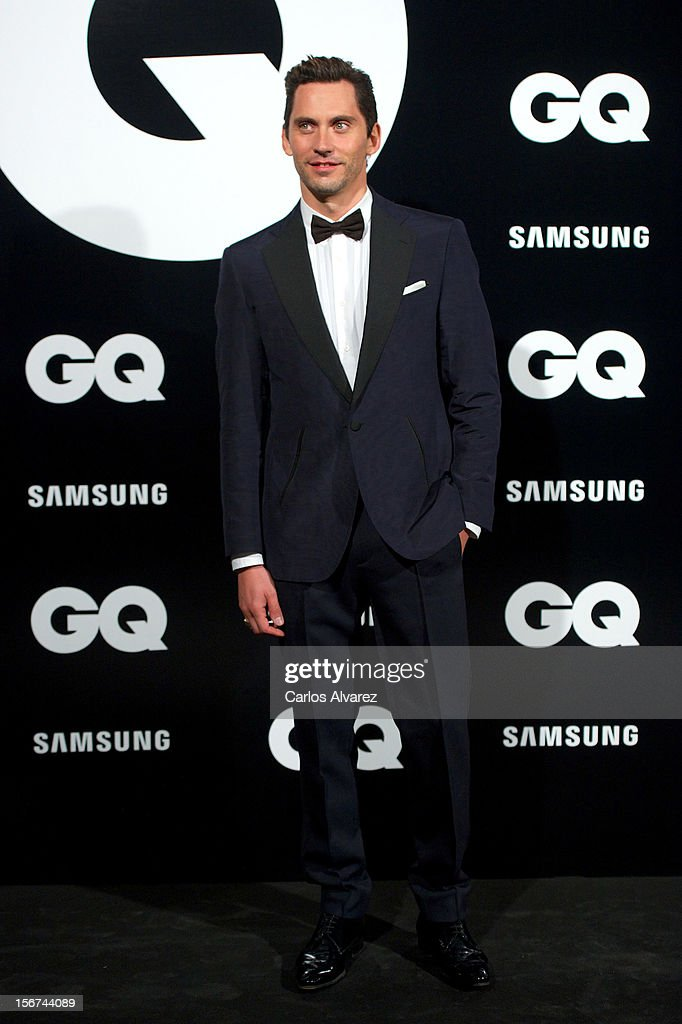 Spanish actor Paco Leon attends the GQ Men Of The Year award 2012 at the Ritz Hotel on November 19, 2012 in Madrid, Spain.
