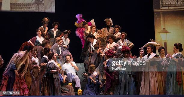 Spanish actor Paco Leon during the presentation of the opera CMO EST MADRIZ theater v la Zarzuela in Madrid Spain 19 May 2016