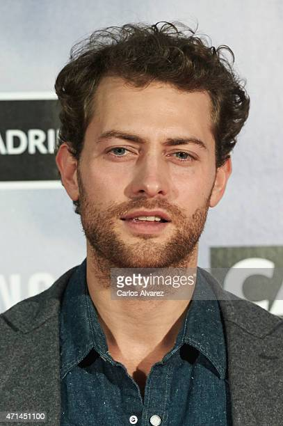 Spanish actor Peter Vives attends 'Game of Thrones' exhibition photocall at the Matadero cultural center on April 28 2015 in Madrid Spain