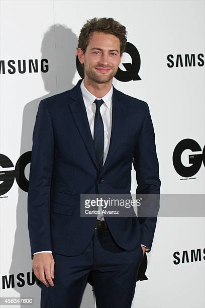 Spanish actor Peter Vives attends the GQ 2014 Men of the Year awards at the Palace Hotel on November 3 2014 in Madrid Spain