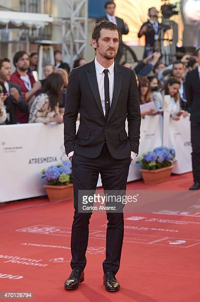 Spanish actor Raul Arevalo attends the 18th Malaga Film Festival opening ceremony at the Cervantes Theater on April 17 2015 in Malaga Spain