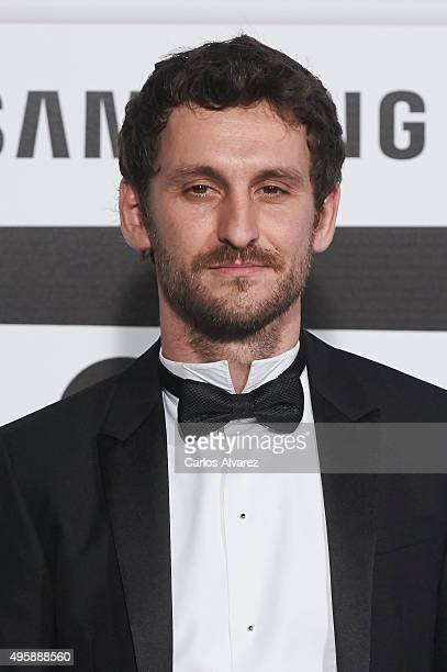 Spanish actor Raul Arevalo attends the GQ Men of The Year 2015 Awards at the Palace Hotel on November 5 2015 in Madrid Spain