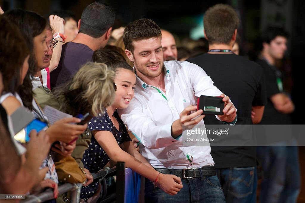 Spanish actor Raul Merida attends 'Isabel' 3th season premiere at the Principal Theater during the FesTVal 2014 day 1 on September 1, 2014 in Vitoria-Gasteiz, Spain.