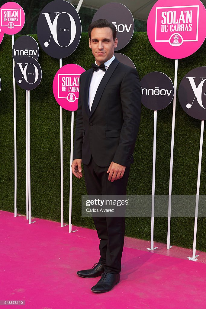 Spanish actor Ricard Sales attends 'Yo Dona' International awards on June 27, 2016 in Madrid, Spain.