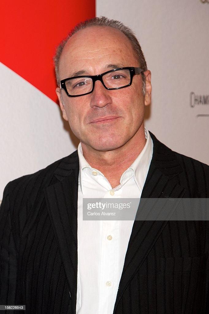 Spanish actor Roberto Alvarez attends the Maison Mumm inauguration at the Santo Mauro Hotel on December 11, 2012 in Madrid, Spain.