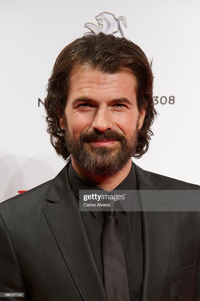 Spanish actor <a gi-track='captionPersonalityLinkClicked' href=/galleries/search?phrase=Rodolfo+Sancho&family=editorial&specificpeople=5717157 ng-click='$event.stopPropagation()'>Rodolfo Sancho</a> attends Men's Health Awards 2013 at the Canal Theater on October 29, 2013 in Madrid, Spain.