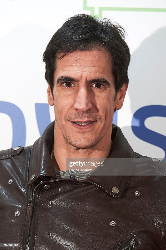 Spanish actor Rodrigo Poison attends the 'Que fue de Jorge Sanz' premiere at the Proyecciones cinema on February 10, 2016 in Madrid, Spain.