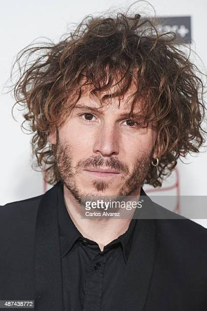 Spanish actor Ruben Ochandiano attends 'Ma Ma' premiere at the Capitol cinema on September 9 2015 in Madrid Spain