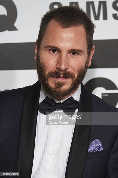 Spanish actor Ruben Ochandiano attends the GQ Men of The Year 2015 Awards at the Palace Hotel on November 5 2015 in Madrid Spain