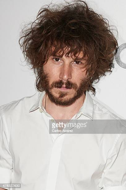 Spanish actor Ruben Ochandiano attends the 'Kenzo' summer party at the Giner de los Rios Foundation on June 24 2015 in Madrid Spain