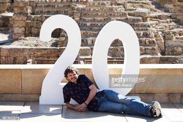 Spanish actor Salva Reina attends the 'Senor Dame Paciencia' photocall during the 20th Malaga Film Festival on March 25 2017 in Malaga Spain