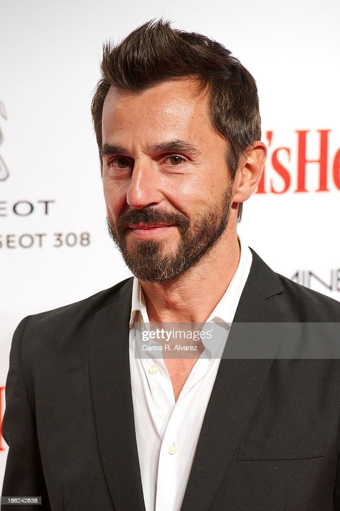 Spanish actor <a gi-track='captionPersonalityLinkClicked' href=/galleries/search?phrase=Santi+Millan&family=editorial&specificpeople=2471954 ng-click='$event.stopPropagation()'>Santi Millan</a> attends Men's Health Awards 2013 at the Canal Theater on October 29, 2013 in Madrid, Spain.