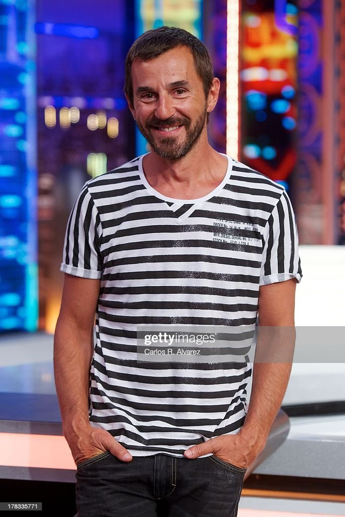 Spanish actor Santi Millan attends the 'El Hormiguero 3.0' new season presentation at the Vertice Studio on August 29, 2013 in Madrid, Spain.