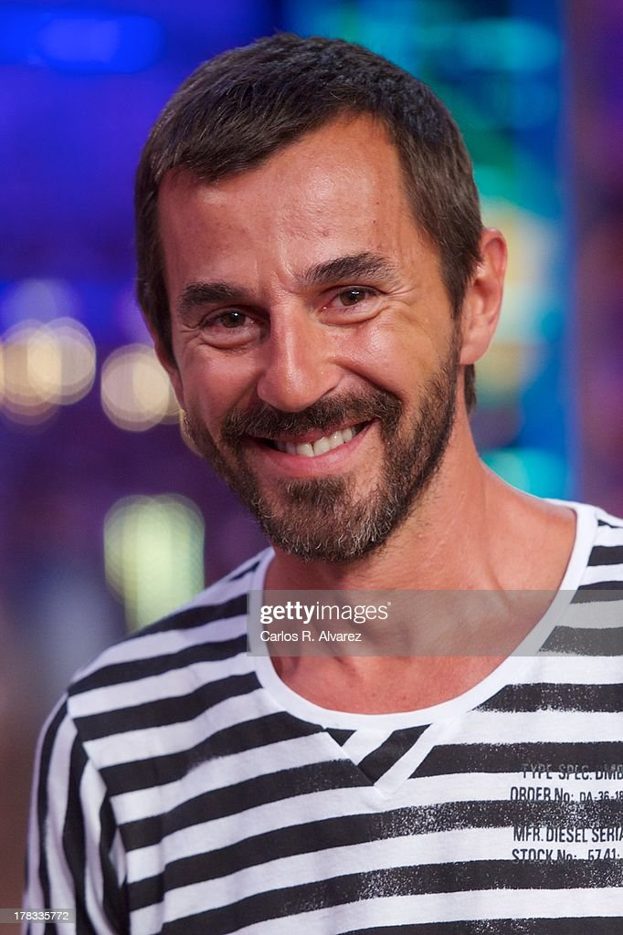 Spanish actor <a gi-track='captionPersonalityLinkClicked' href=/galleries/search?phrase=Santi+Millan&family=editorial&specificpeople=2471954 ng-click='$event.stopPropagation()'>Santi Millan</a> attends the 'El Hormiguero 3.0' new season presentation at the Vertice Studio on August 29, 2013 in Madrid, Spain.