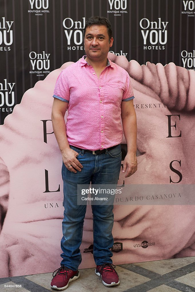 Spanish actor Secun de la Rosa attends 'Pieles' photocall at the Only You Hotel on July 1, 2016 in Madrid, Spain.