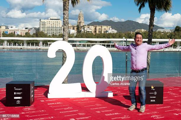 Spanish actor Secun de la Rosa attends the 'Pieles' photocall on day 8 of the 20th Malaga Film Festival on March 24 2017 in Malaga Spain