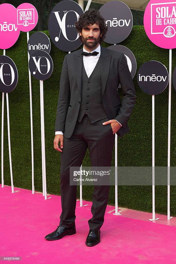 Spanish actor <a gi-track='captionPersonalityLinkClicked' href=/galleries/search?phrase=Tamar+Novas&family=editorial&specificpeople=5088903 ng-click='$event.stopPropagation()'>Tamar Novas</a> attends 'Yo Dona' International awards on June 27, 2016 in Madrid, Spain.