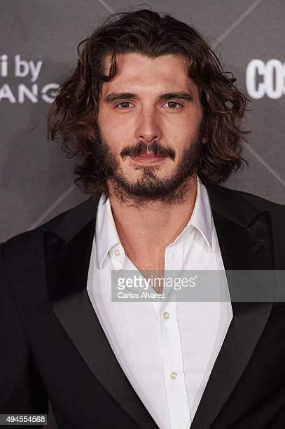 Spanish actor Yon Gonzalez attends the VIII Cosmopolitan Fun Fearless Female Awards at the Ritz hotel on October 27 2015 in Madrid Spain