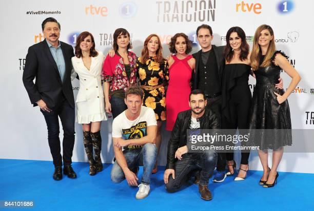 Spanish actors Carlos Bardem Begona Maestre Nathalie Poza Natalia Rodriguez Ana Belen Pedro Alonso Susana Cordoba Manuela Velasco Eloy Azorin and...