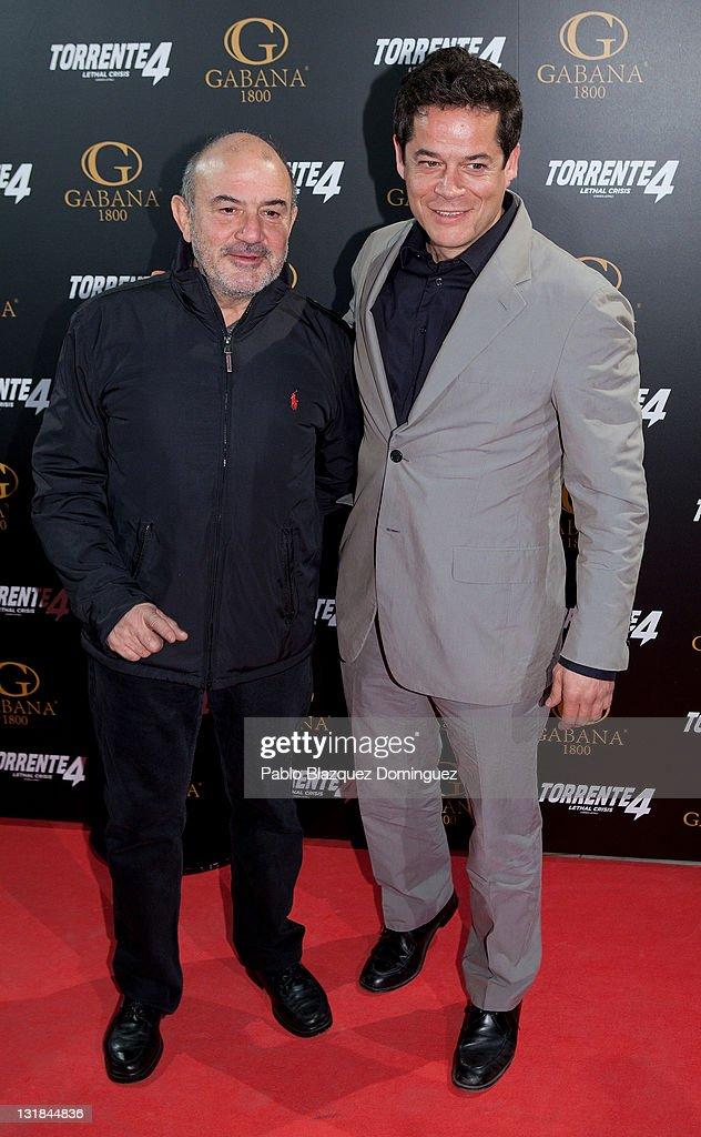 ¿Cuánto mide Jesús Bonilla? Spanish-actors-jesus-bonilla-and-jorge-sanz-attend-torrente-4-at-picture-id131844836
