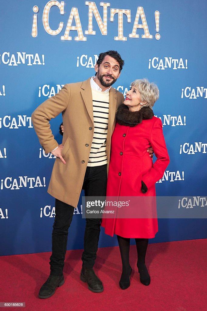 '¡Canta!' Madrid Premiere