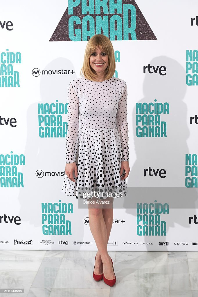 Spanish actress <a gi-track='captionPersonalityLinkClicked' href=/galleries/search?phrase=Alexandra+Jimenez&family=editorial&specificpeople=4571095 ng-click='$event.stopPropagation()'>Alexandra Jimenez</a> attends 'Nacidas Para Ganar' photocall at the Eurobuilding Hotel on May 04, 2016 in Madrid, Spain.