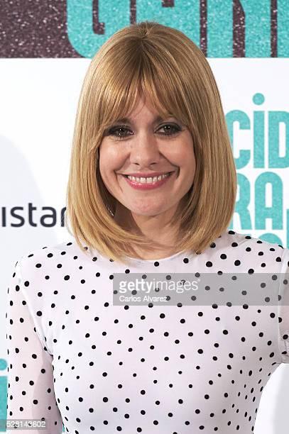 Spanish actress Alexandra Jimenez attends 'Nacidas Para Ganar' photocall at the Eurobuilding Hotel on May 04 2016 in Madrid Spain