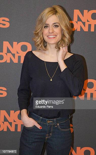 Spanish actress Alexandra Jimenez attends No controles photocall at Palafox Cinema on December 28 2010 in Madrid Spain