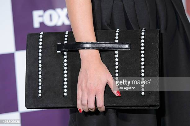 Spanish actress Alicia Sanz attends the Fox Live new channel cocktail presentation at Pinar Club on October 7 2014 in Madrid Spain