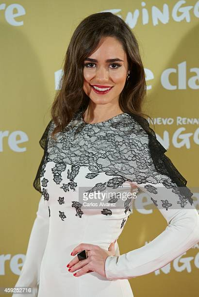Spanish actress Alicia Sanz attends the XII Marie Claire Prix de la Moda Awards at the Callao cinema on November 19 2014 in Madrid Spain
