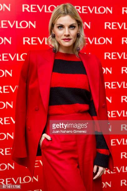 Spanish actress Amaia Salamanca attends Revlon new products presentation at The Little Showroom on November 8 2017 in Madrid Spain