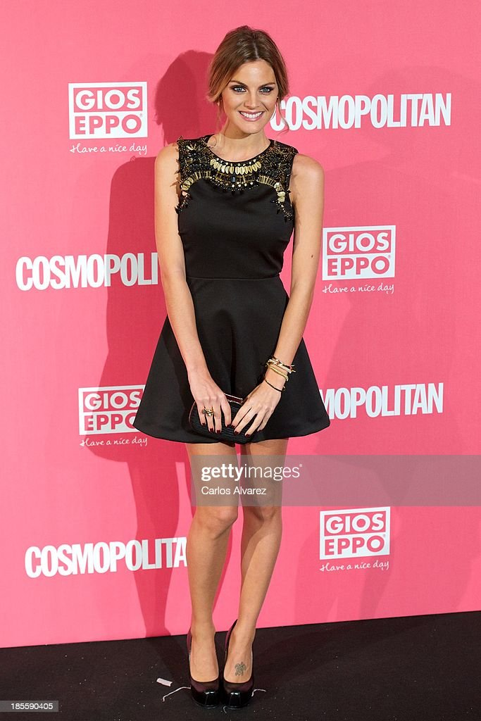 Spanish actress <a gi-track='captionPersonalityLinkClicked' href=/galleries/search?phrase=Amaia+Salamanca&family=editorial&specificpeople=5084489 ng-click='$event.stopPropagation()'>Amaia Salamanca</a> attends the Cosmopolitan Fun Fearless Female Awards 2013 at the Ritz Hotel on October 22, 2013 in Madrid, Spain.