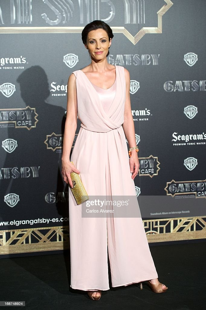 Spanish actress Ana Alvarez attends the 'El Gran Gatsby Cafe' inauguration party at the Circulo de Bellas Artes on May 14, 2013 in Madrid, Spain.
